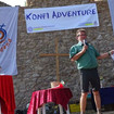 Konfi-Adventure: Moderationsteam Wilfried Rumpf und Margarete Ruppert